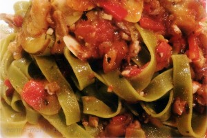 畑のミートスパゲティ